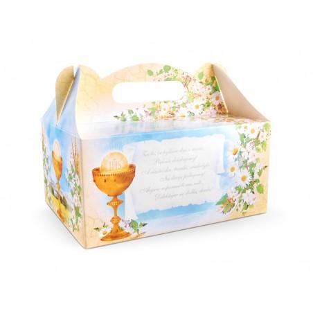 pudełko na ciasto komunijne ihs