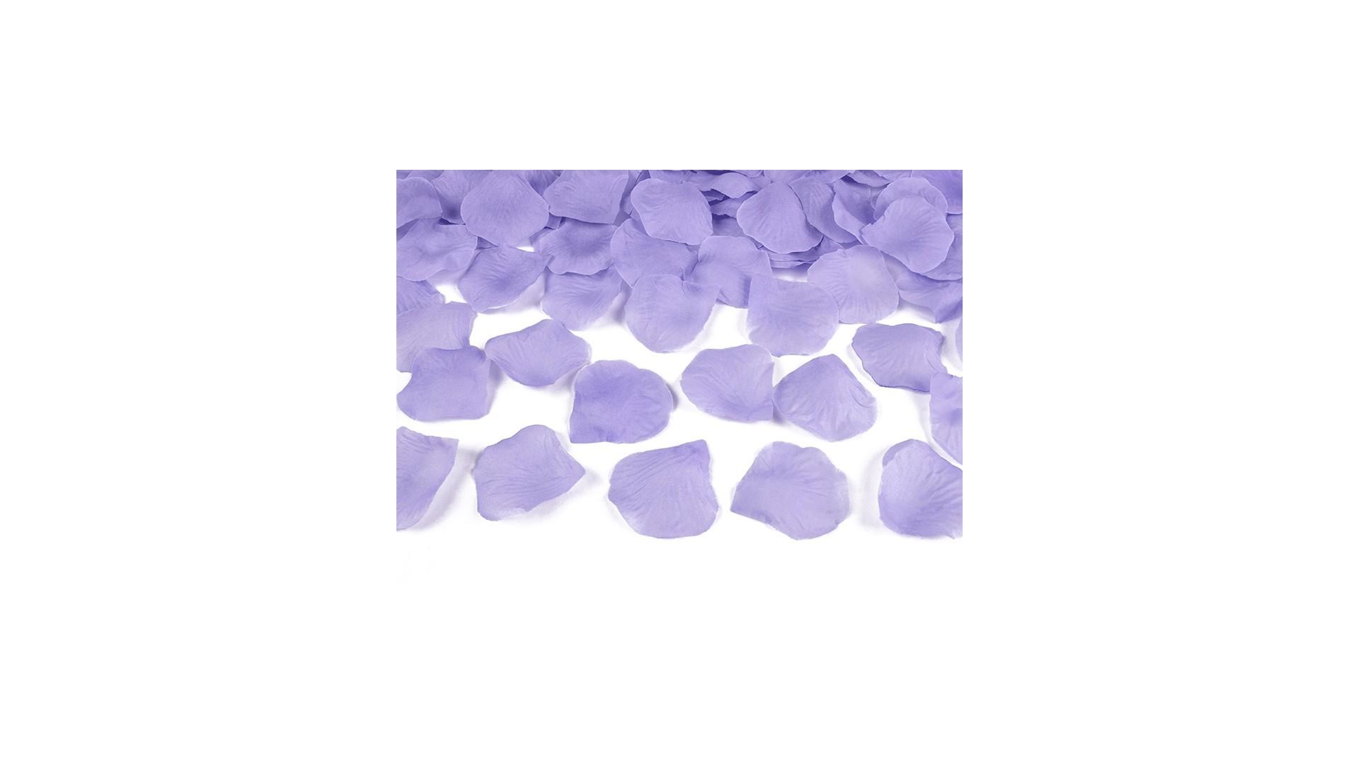 płatki róż lawendowe fioletowe