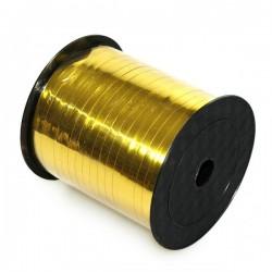 Wstążka dekoracyjna złota metaliczna do balonów