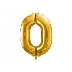 balon foliowy złoty 0