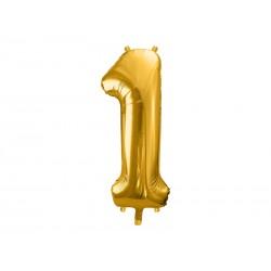 balon foliowy złoty 1
