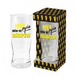 Szklanka do piwa 500ml - Król życia
