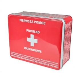Puszka Skarbuszka Apteczka pudełko ratunkowe
