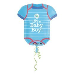 Balon foliowy koszulka Baby Boy 55x60 cm