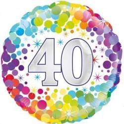 balony konfetti 40