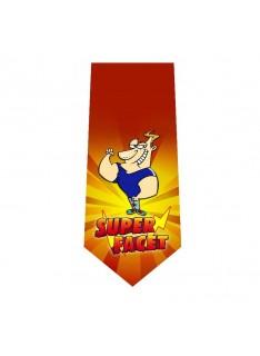krawat super facet nadruk