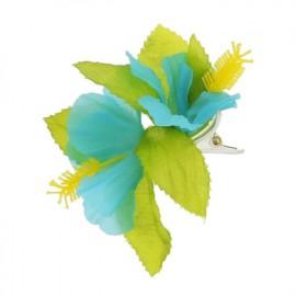 przypinka hawajska błękitna